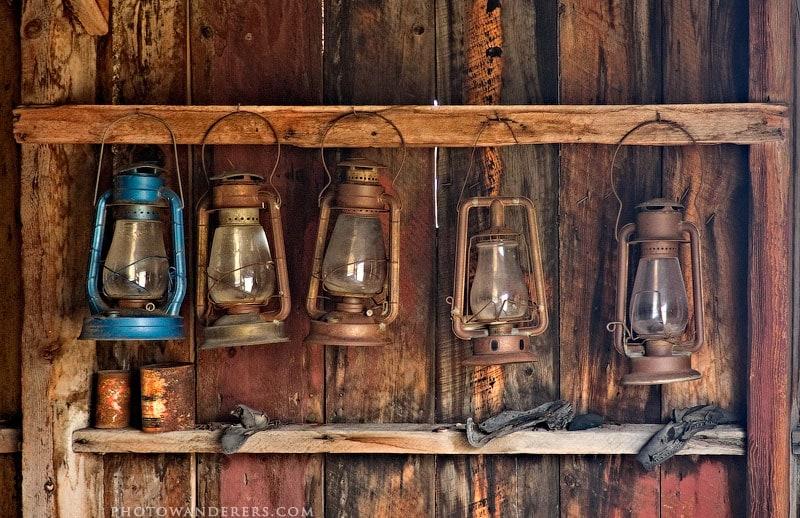 Лампы, город-призрак Боди (Bodie Ghost Town)