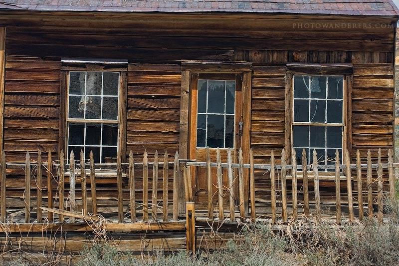 Дом Боба Конвэй (Conway House), город-призрак Боди (Bodie Ghost Town)