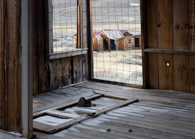 Взгляд в прошлое, город-призрак Боди (Bodie Ghost Town)