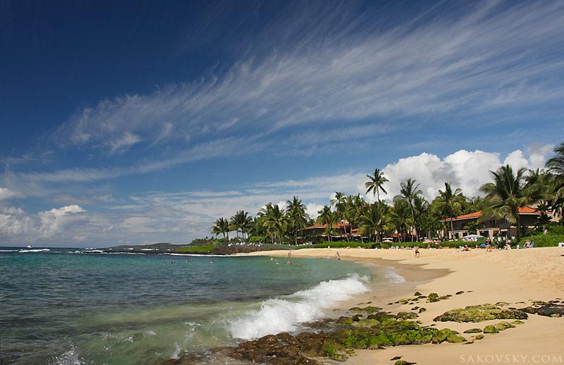 Пляж Po'ipu