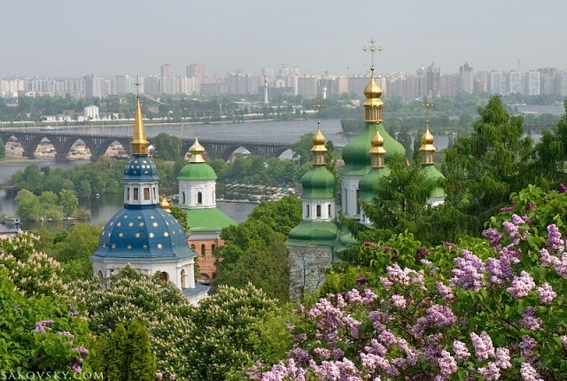 Путеводитель по Блогу: Выдубицкий монастырь, Киев, Украина