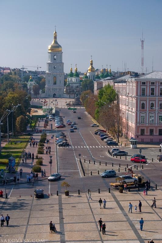 Прогулка по старому Городу. Киев. Украина