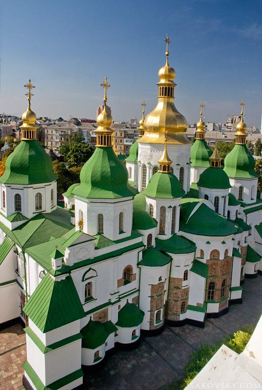 Софийский собор, вид с колокольни
