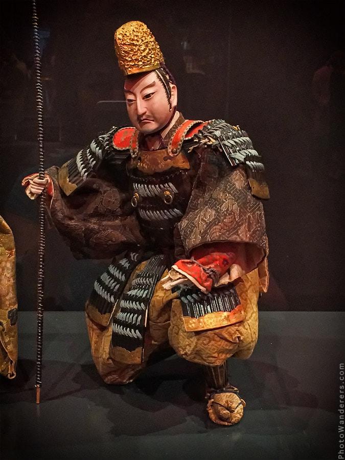 Кукла-воин, изображающая легендарного императора пятого века Одзин, Япония, 19 век