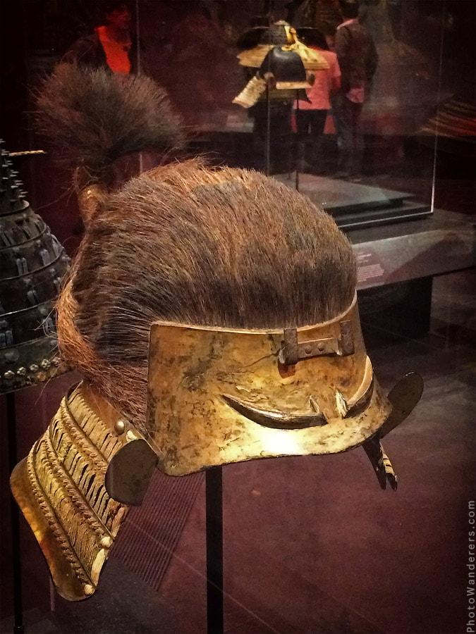 Шлем, имитирующий голову (зунари-кабуто), 1600 год
