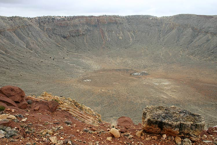 Метеоритный кратер, Аризона | Meteor Crater, Arizona