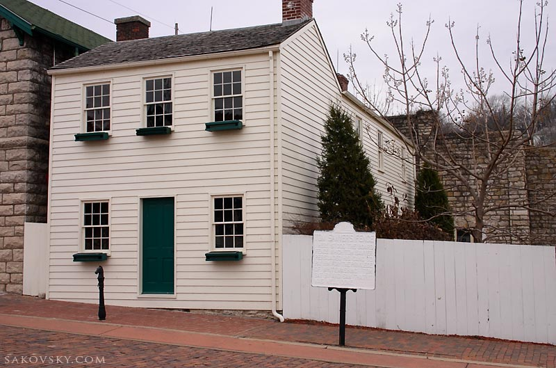 Дом Тома Сойера со знаменитым забором