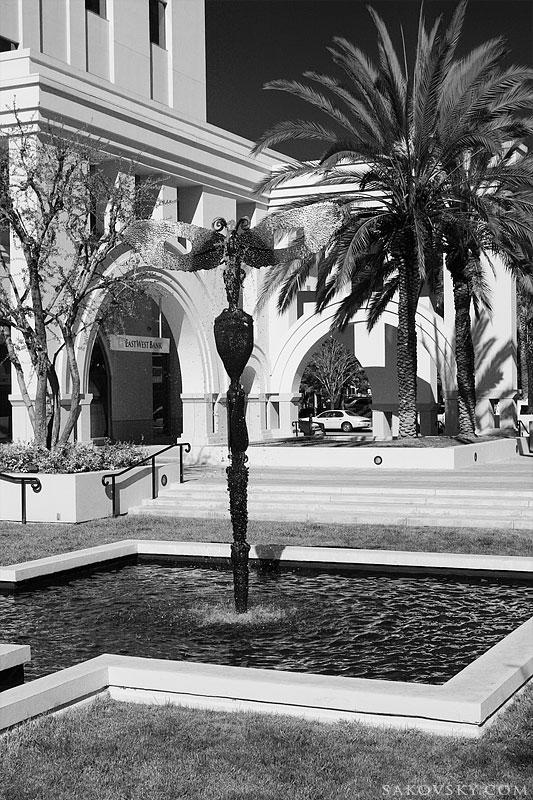 Фонтан на Plaza Las Fuentes
