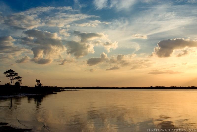 Закат на Медовом Месяце, Honeymoon Island, Florida
