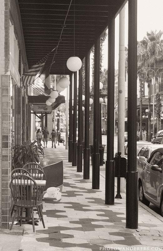 Улицы старой Тампы, Флорида