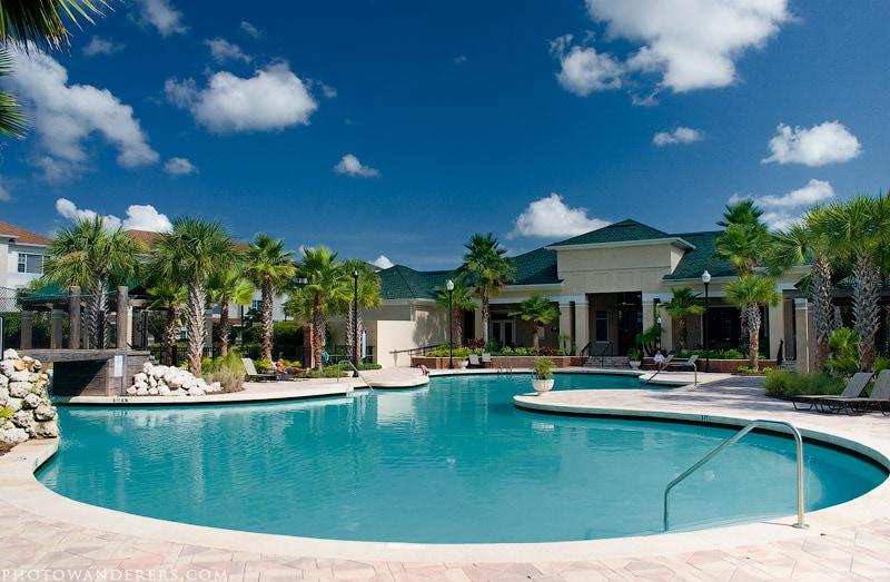 Бассейн в райском уголке, Тампа, Флорида