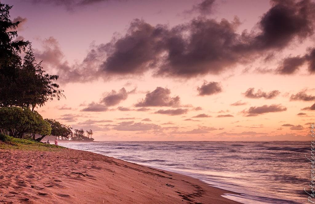Рассвет в Капаа, Кауаи, Гавайи | Sunrise in Kapaa, Kauai, Hawaii