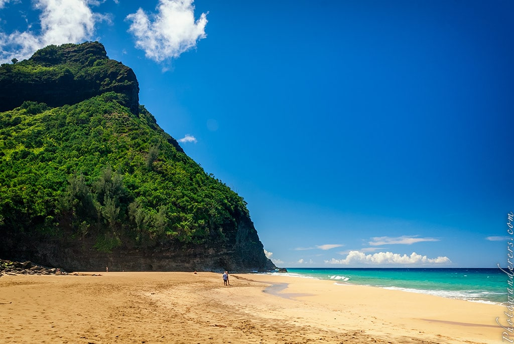 Пляж Ханакапии, Кауаи, Гавайи | Hanakapiai Beach, Kauai, Hawaii