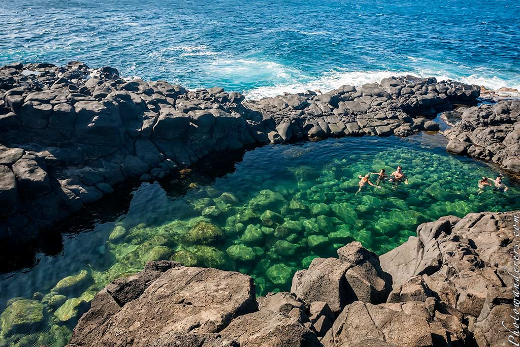 Купальня Королевы, Кауаи | Queen Bath, Kauai