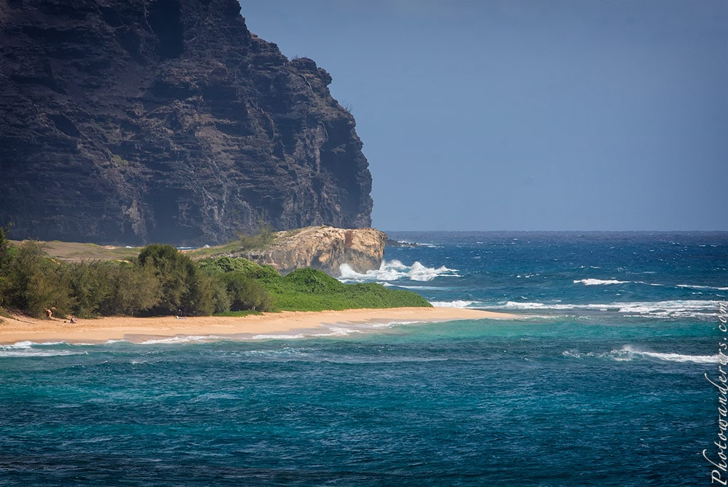 Отвесный берег, Кауаи | Beach bluff, Kauai