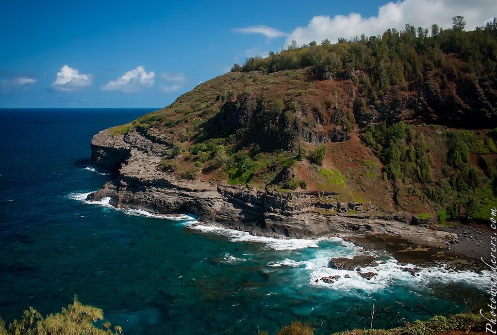 Скалы северного побережья, Кауаи, Гавайи | Rocky north shore, Kauai, Hawaii