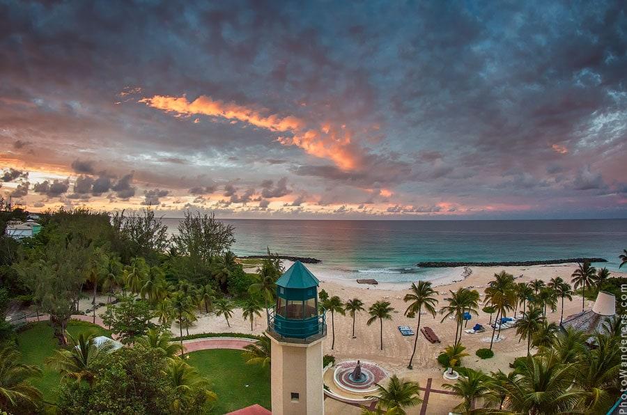 Рассвет, Мыс Нидхам-Пойнт, Барбадос | Needham's Point, Barbados