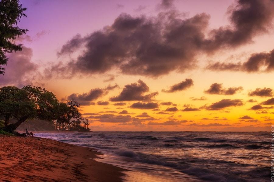 Рассвет на Кауаи, Гаваии | Kauai Sunrise, Hawaii