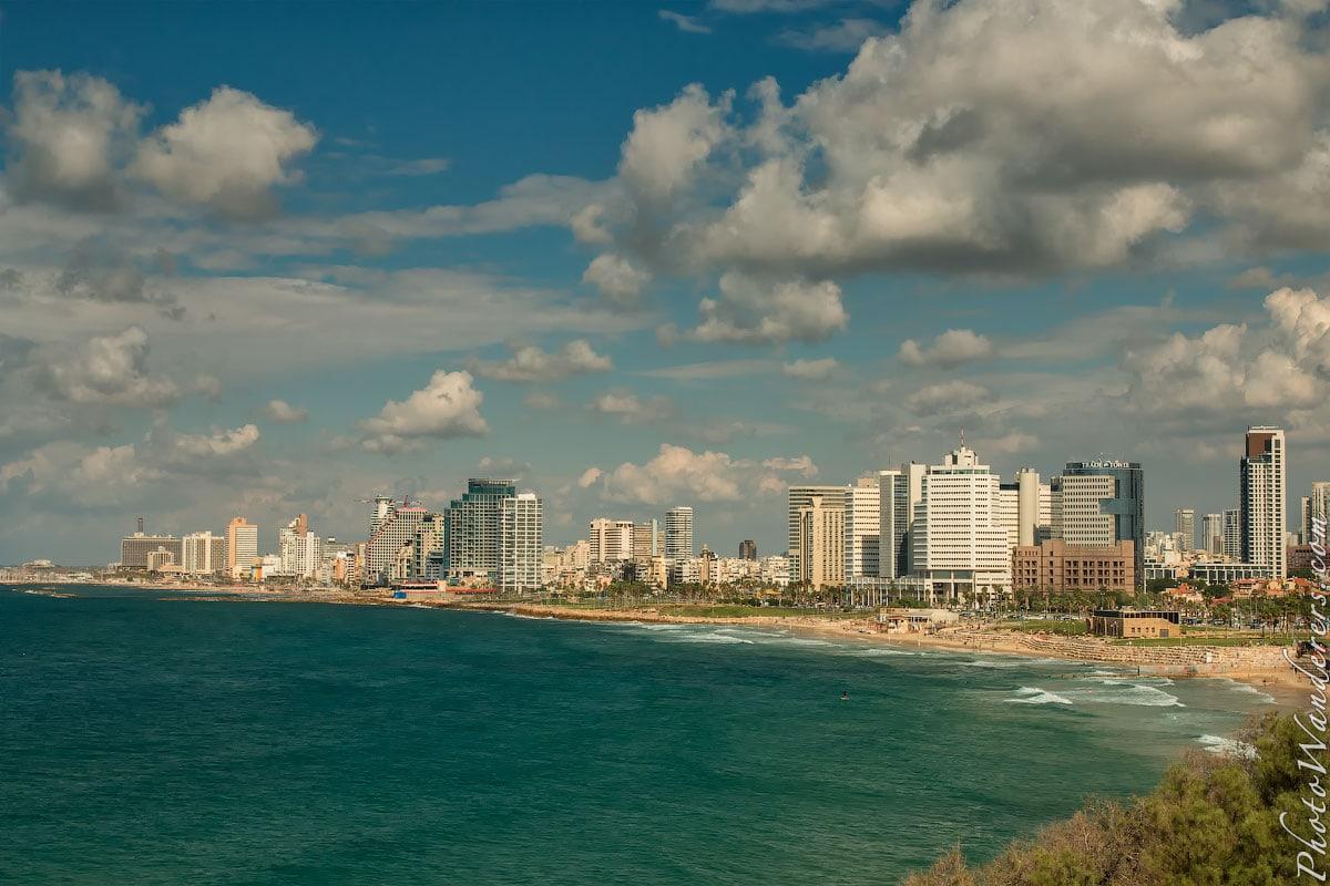 Набережная в Тель-Авиве (Tel Aviv Shore View), Израиль