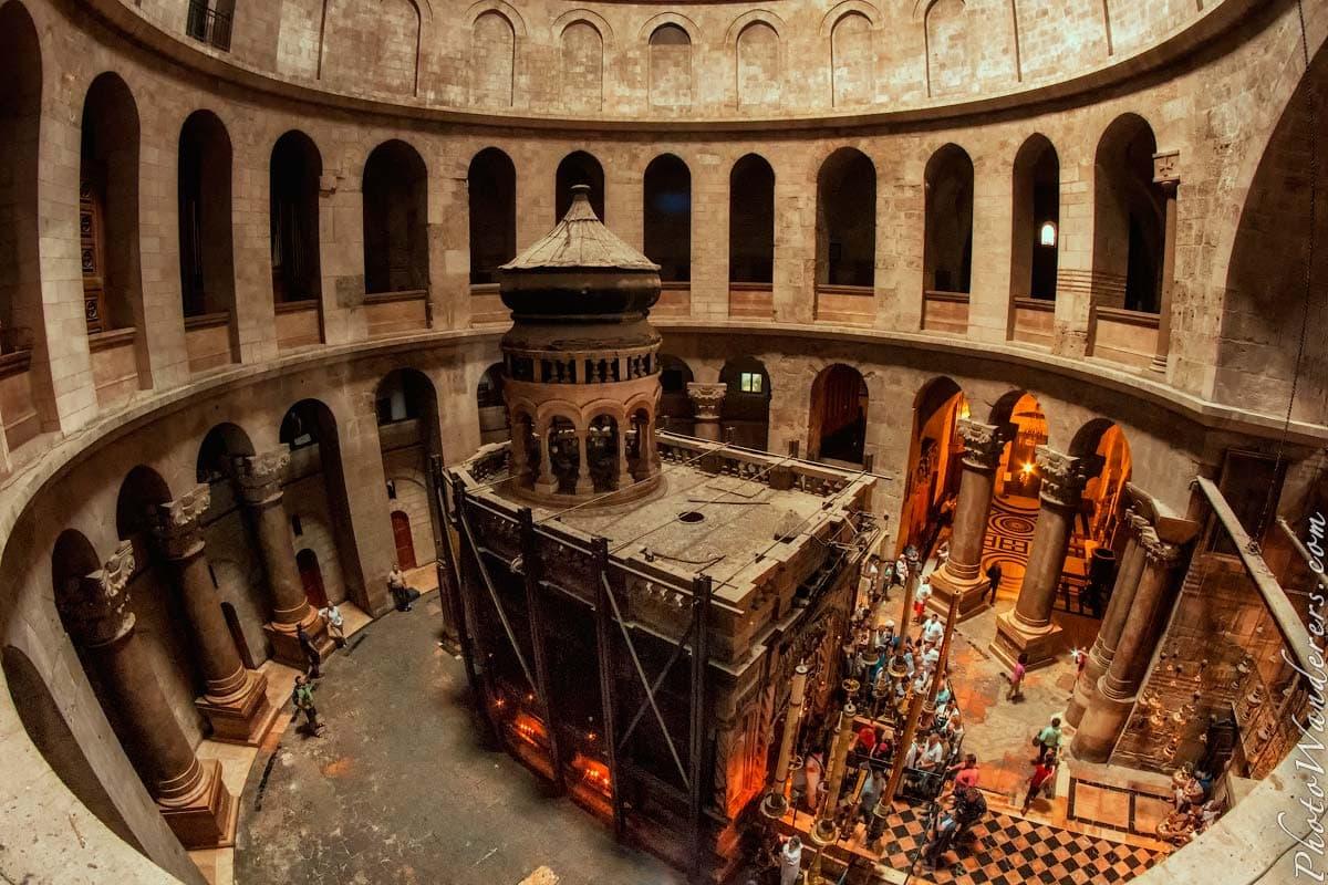 Церковь Гроба Господня (Church of the Holy Sepulchre), Иерусалим, Израиль. Март