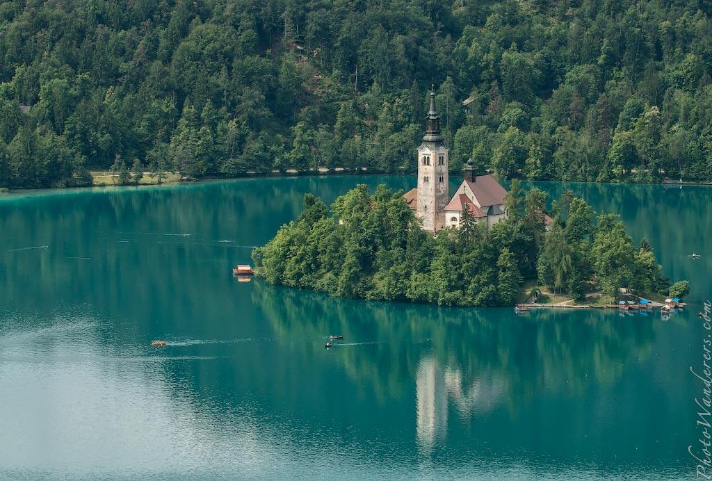 Мариинскай церковь, озеро Блед, Словения | Assumption of Mary Church, Lake Bled, Slovenia
