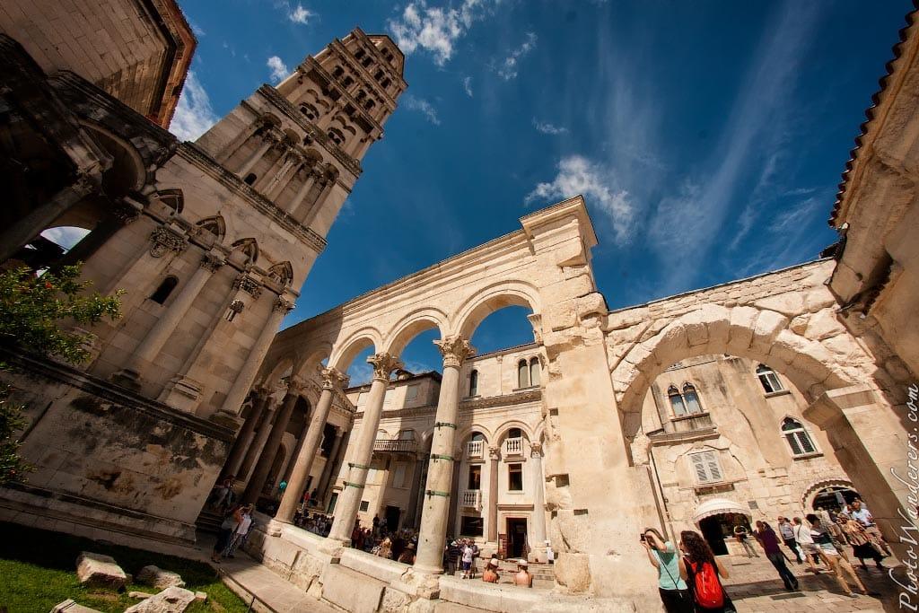 Дворец Диоклетиана, Сплит, Хорватия | Diocletian's Palace, Сплит, Croatia