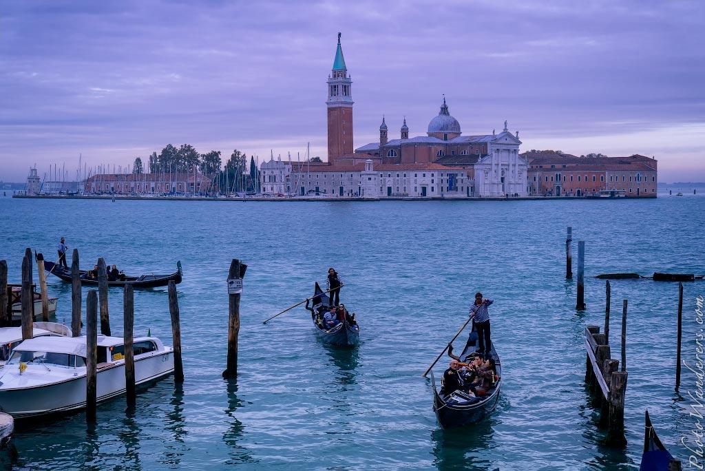 Собор Сан-Джорджо-Маджоре, Венеция, Италия| San Giorgio Maggiore at Dusk, Venice, Italy