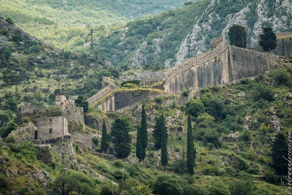 Стены Котора, Черногория | Walls of Kotor, Montenegro