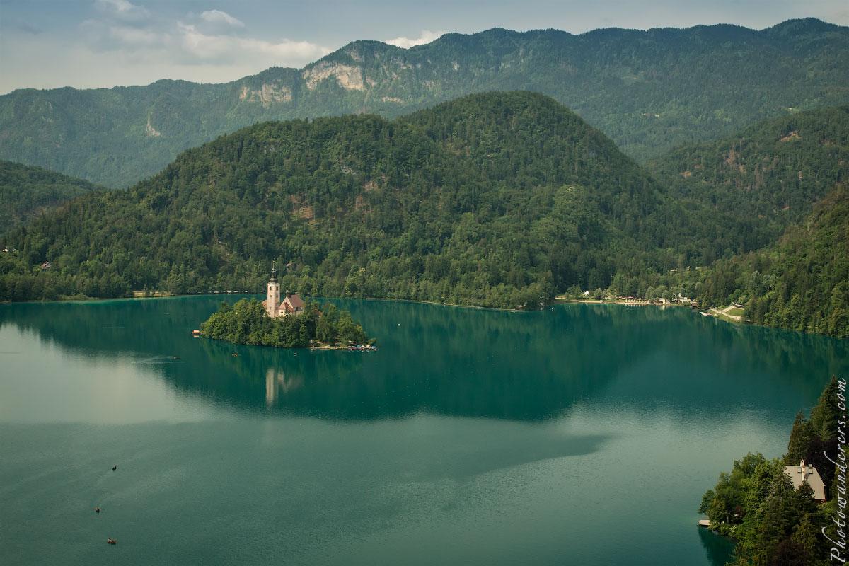 Бледское озеро, Словения | Bled Lake, Slovenia