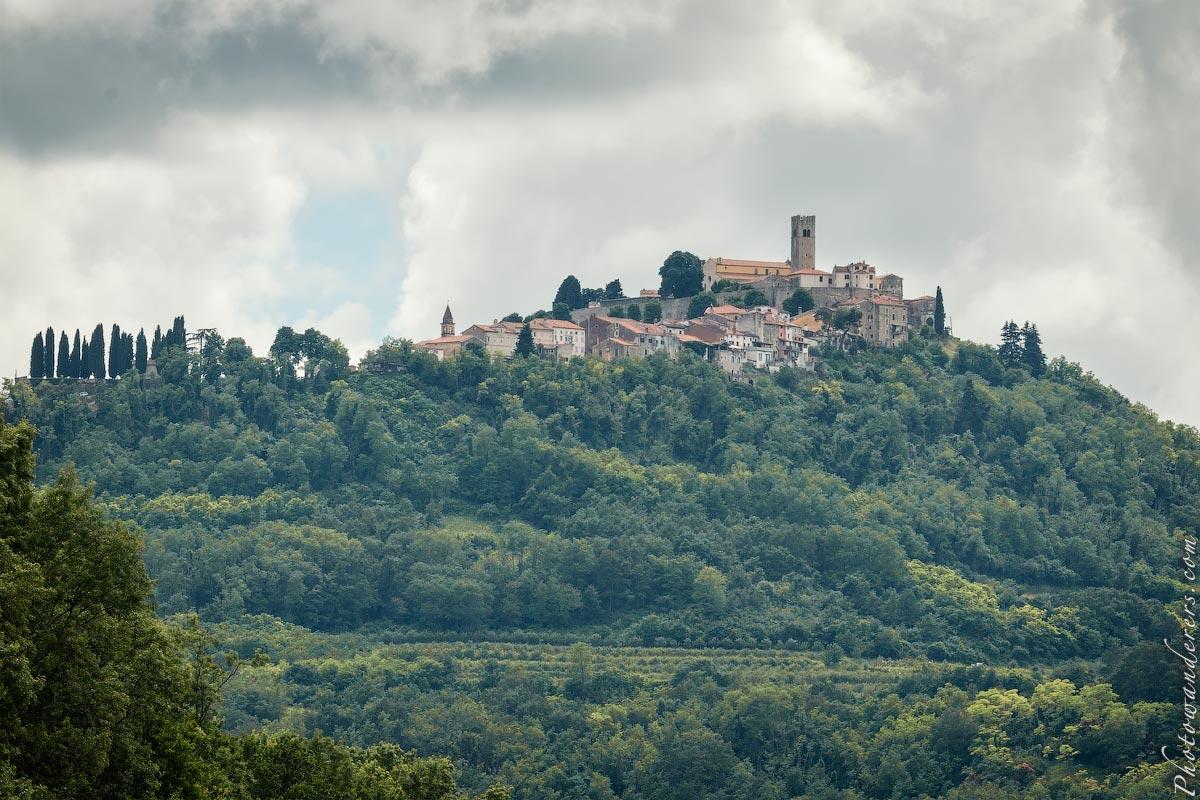 Средневековый город Мотовун, Хорватия | Medieval town of Motovun, Croatia