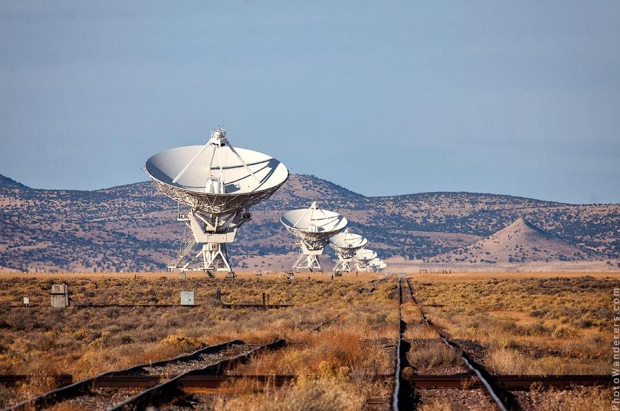 Сверхбольшие радиотелескопы, Нью Мексико   The Very Large Array, New Mexico