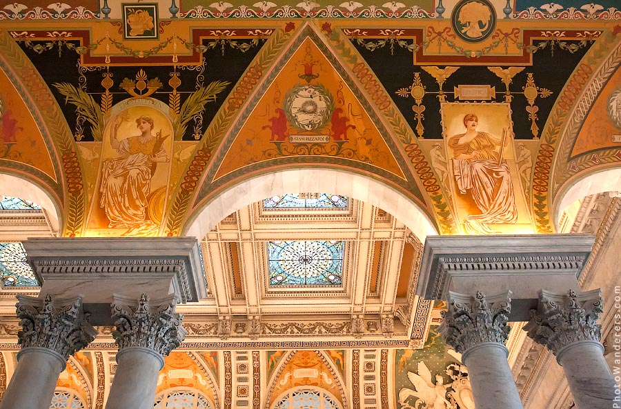 Библиотека Конгресса США, Вашингтон | Library of Congress, Washington
