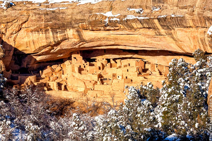 Скальный Дворец, Меса-Верде, Колорадо | Cliff Palace, Mesa Verder, Colorado