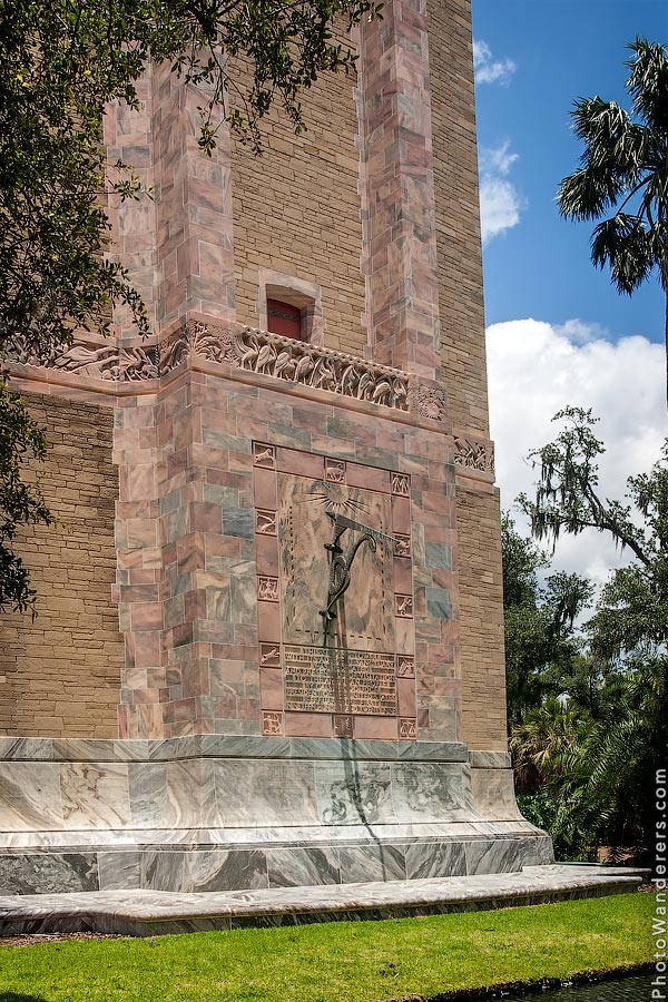 Солнечные часы, Башня Бока, Флорида