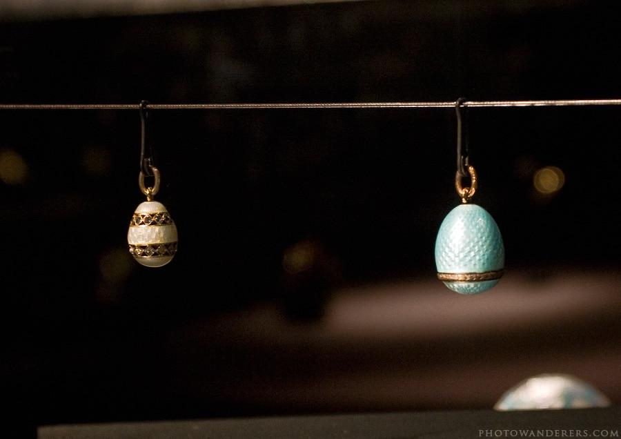 Миниатюрные пасхальные яйца, Фаберже