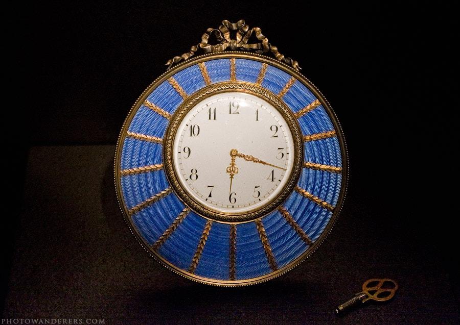 Голубые свадебные часы, Фаберже