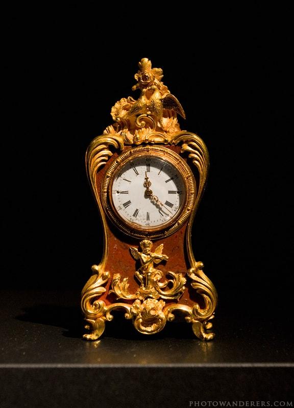 Часы в стиле картель, Фаберже, мастер Михаил Перхин, 1890