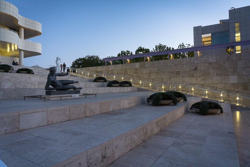 Ступени, Музей Гетти, Лос-Анжелес | Stairs, Getty Center, Los Angeles