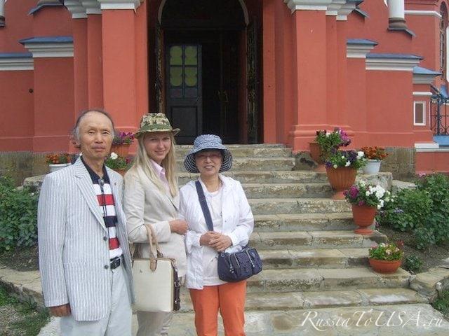 Друзья из Кореи в Иркутске