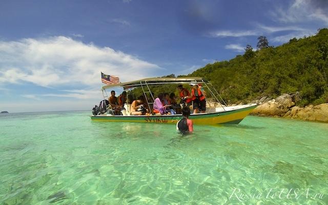 Острова Перхентиал, Малайзия