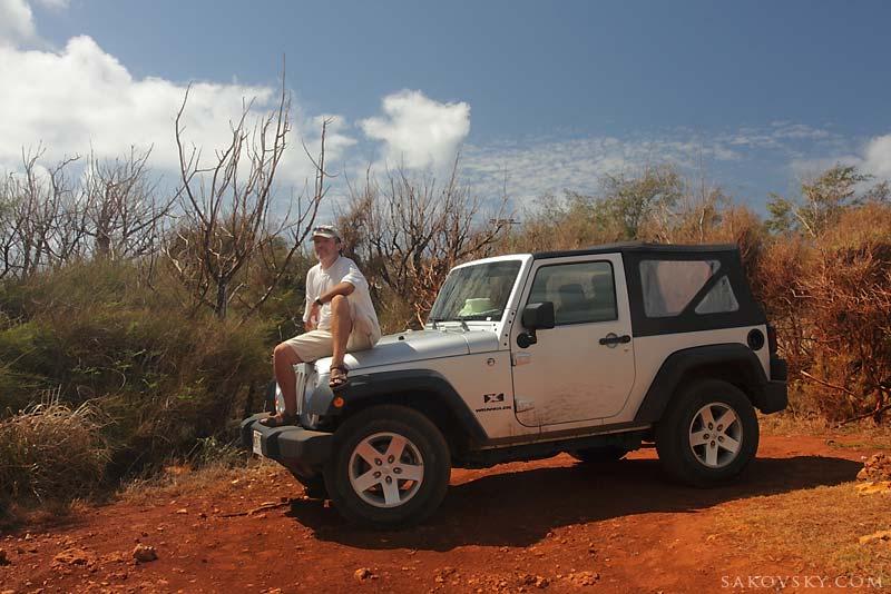 На тропе Mahaulepu, Kauai