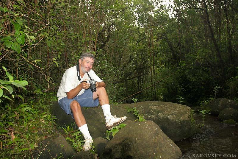 До кратера мы не добрались - куча камней преградила нам дорогу, Kauai