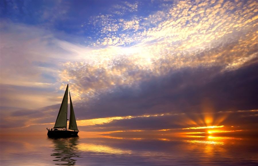 Закат на Ки-Уэст, Флорида