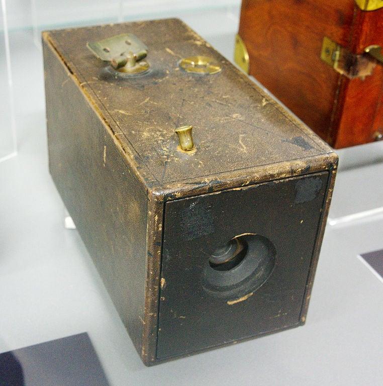 Самая первая камера Кодак