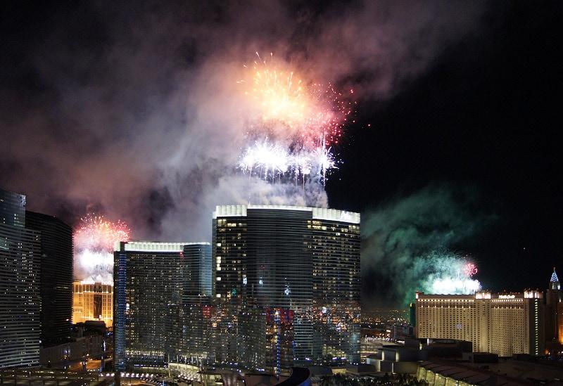 Новый Год в Лас Вегасе