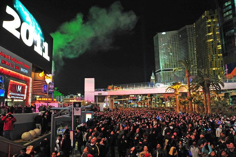 Новый Год, Планета Голливуд (Planet Hollywood casino), Лас Вегас