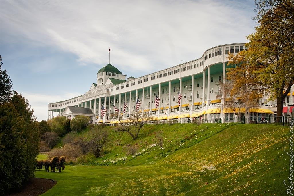 Гранд Отель (1887), остров Макино, Мичиган | Grand Hotel, Mackinac Island, Michigan