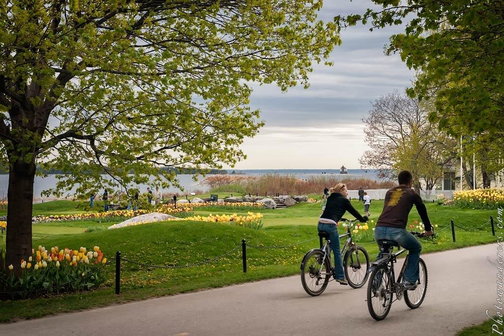 Променад, остров Макино, Мичиган | Promenade, Mackinac Island, Michigan