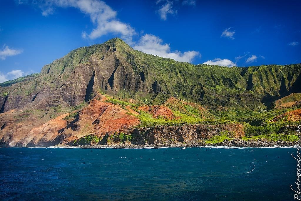 10 дней в раю: парящие утесы Напали, остров Кауаи, Гавайи