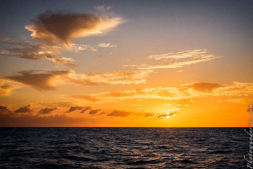 Закат, Кауаи, Гавайи